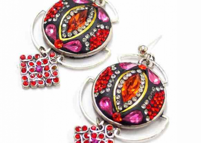 ART DECO STYLE DESIGNER EARRINGS